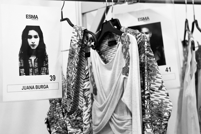 Backstage Celia Vela S:S'14 | Anna Port Photography1