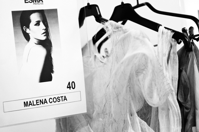 Backstage Celia Vela S:S'14 | Anna Port Photography5