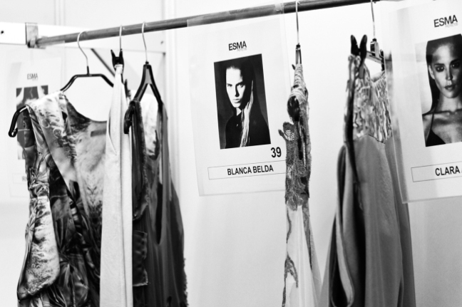 Backstage Celia Vela S:S'14 | Anna Port Photography7