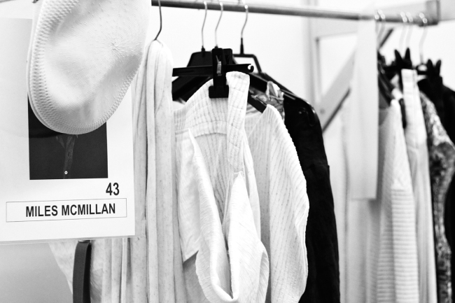 Backstage Celia Vela S:S'14 | Anna Port Photography8