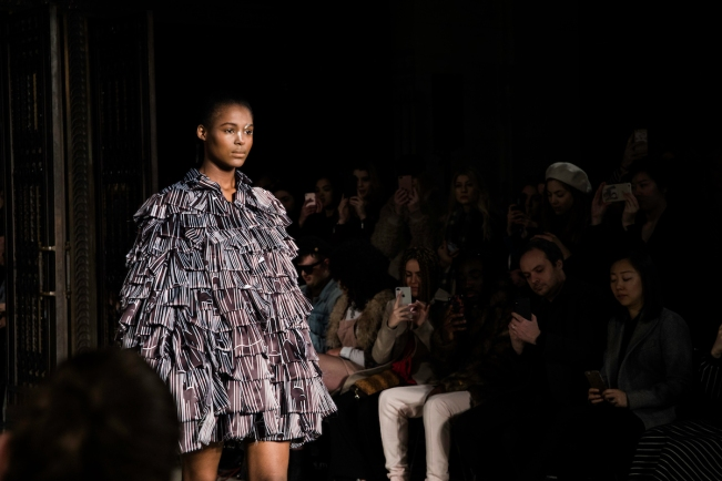 Apujan, London Fashion Week A:W'18 | Anna Port Photography11