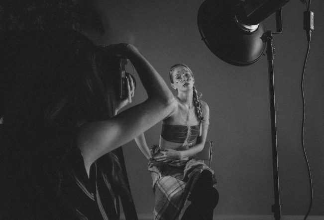 BTS Beauty Shoot Dust by Emma Jane Lewis | Anna Port Photography4
