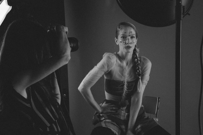 BTS Beauty Shoot Dust by Emma Jane Lewis | Anna Port Photography7