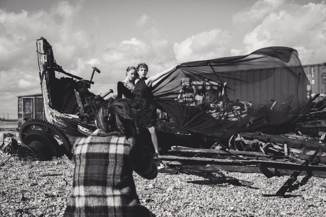 BTS editorial by Emma Jane Lewis for IMirage Mag | Anna Port Photography1